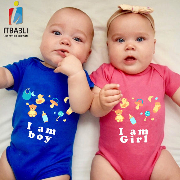 Boy & Girl Twin