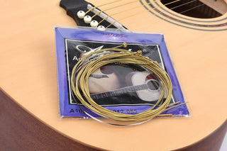 6pcs Acoustic Guitar Strings (Grab 30 Guitar Picks & Save Money On Shipping)