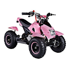 GMX Junior 49cc Kids Quad Bike - Pink