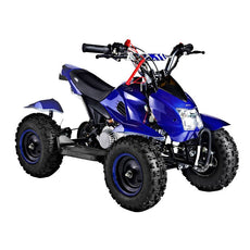 GMX Junior 49cc Kids Quad Bike - Blue