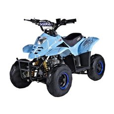 GMX Ripper 110cc Sports Quad Bike - Spider Blue