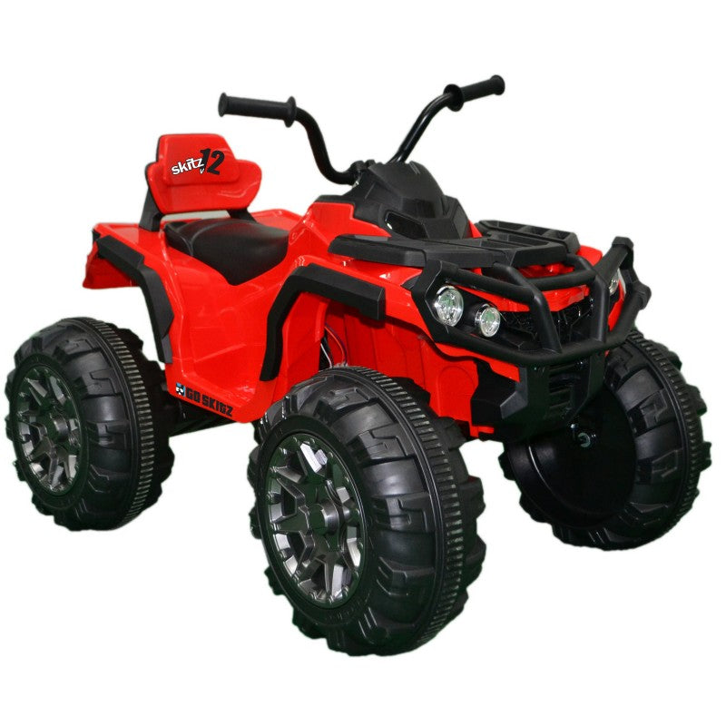 Go Skitz Kids Adventure Electric Quad Bike Red