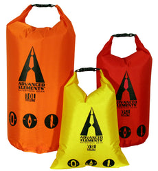 PackLite Rolltop Dry Bag Set By Advanced Elements
