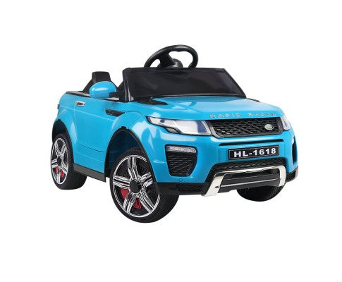 Range Rover Evoque Kids Ride On Car Blue