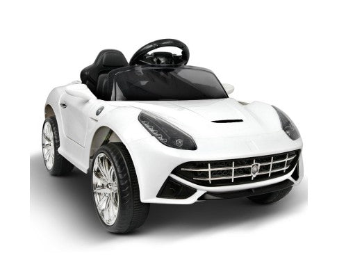 Ferrari F12 Kids Ride on Sport Car White