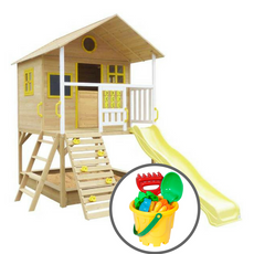 Warrigal Cubby House & Bucket Set