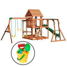 Monticello Play Center & Bucket Set