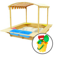 Playfort Sandpit + Bucket Set
