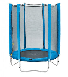 4.5ft Junior Trampoline And Enclosure - Blue