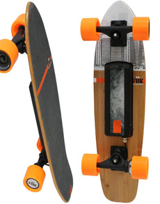 Mini Bamboo Lithium Electric Skateboard