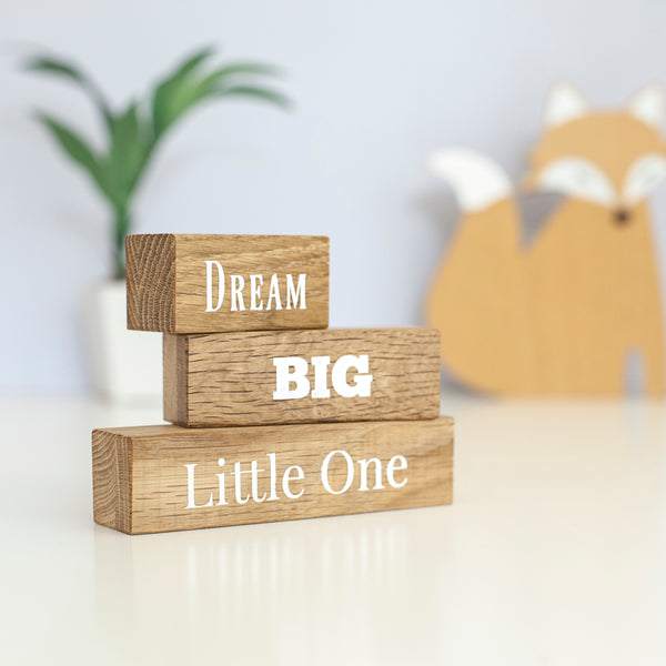 Dream Big Little One Blocks
