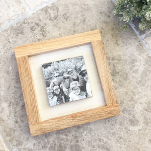 1 Tile Oak Frame