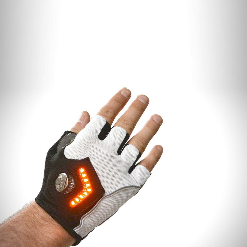 ms gadgets led swivel signal gloves for runners and cyclists