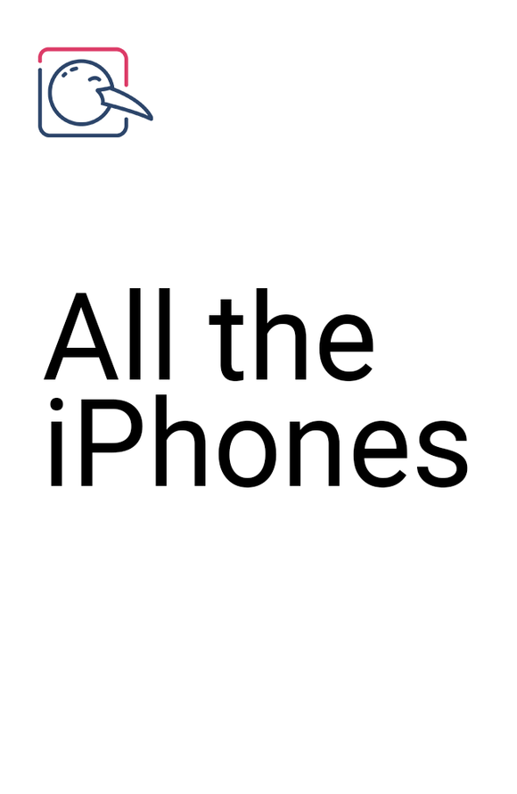 All the iPhones