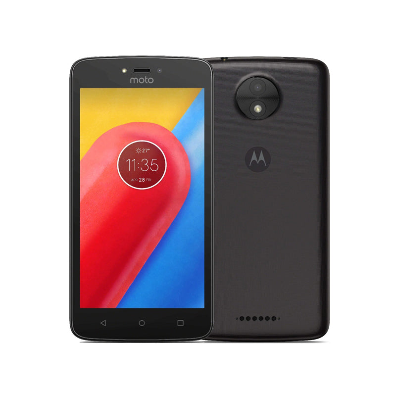 MOTOROLA MOTOC  XT1756  4G -( 8gb 1gb ram  5.0 inc  5mp single sim black )