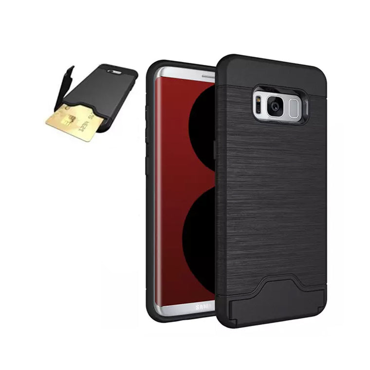 Credit Card Kickstand - Card Brush Shell and Kickstand