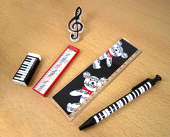 Music Themed Stationery Set