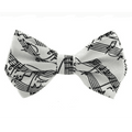 Bow Tie with Music Notes/Scores