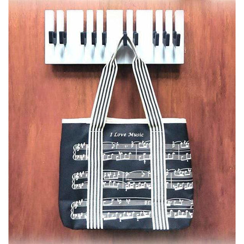Image of Music Bumblebees Household items Music Themed Keyboard Clothes Hanger