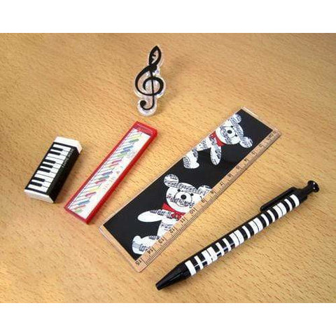 Music Themed Stationery Pacer Set - Pack of 5