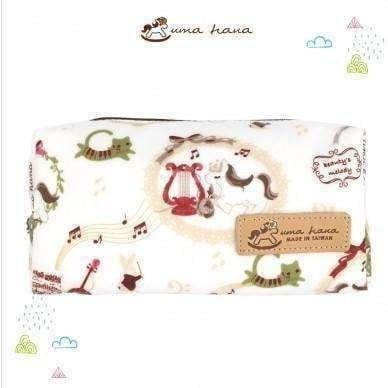 Image of Uma Hana Music Themed Water Resistant Extra Large Pencil Case