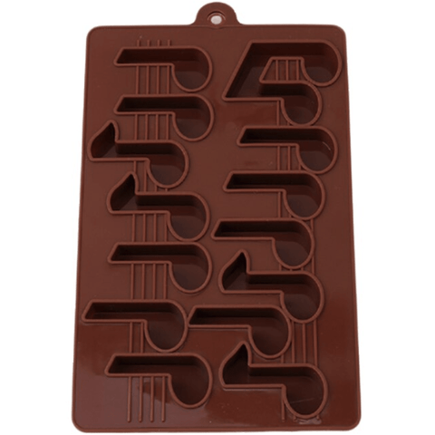 Music Bumblebees Music Gifts,For Teachers Music Notes Fondant Icing Decoration Mould