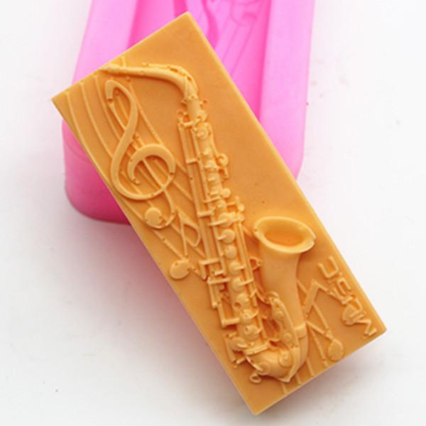 Music Bumblebees Music Gifts,For Teachers Musical Instruments Soap Decoration Mould