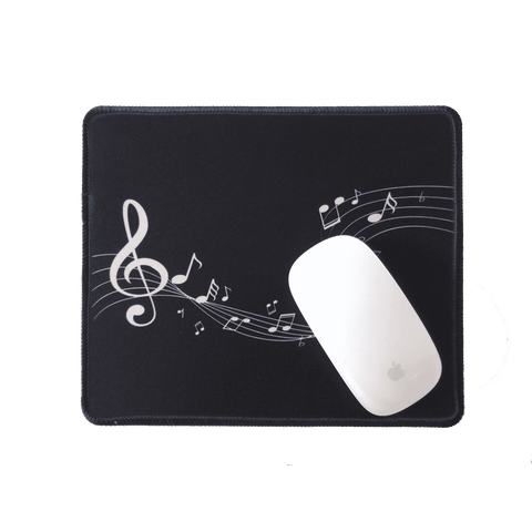 Music Bumblebees Music Mouse Pad Music Bumblebees Music Themed Black and White Mouse Pad