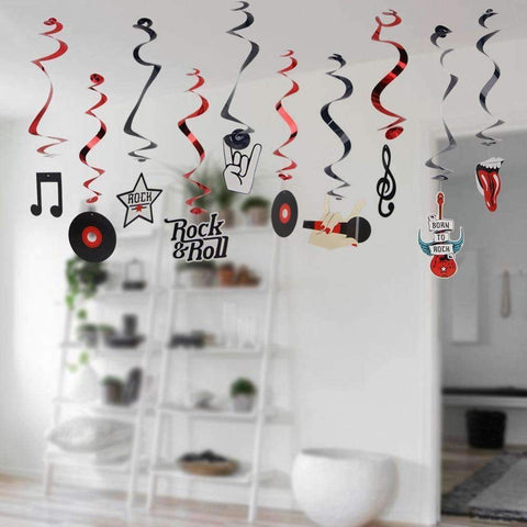 Image of Music Bumblebees Music Party Needs Music Themed Party Deco - Rock n Roll