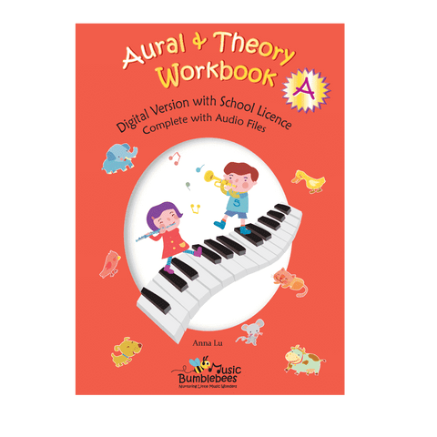 Music Bumblebees Music Publications,Featured Products,Products,Our Publications Music Bumblebees Aural & Theory Workbook A School Licence (Digital Download)