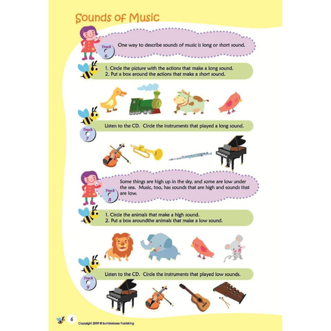 Image of Music Bumblebees Music Publications,Featured Products,Products,Our Publications Music Bumblebees Aural & Theory Workbook A School Licence (Digital Download)