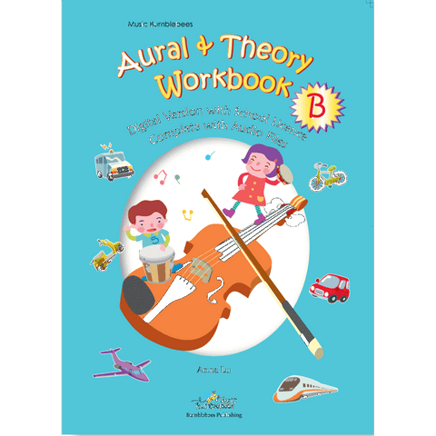 Image of vendor-unknown Music Publications,Featured Products,Products,Our Publications Music Bumblebees Aural & Theory Workbook B School Licence (Digital Download)