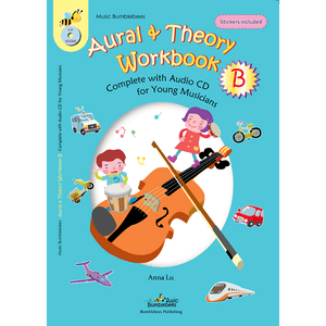vendor-unknown Music Publications,Featured Products,Products,Our Publications Music Bumblebees Aural & Theory Workbook B