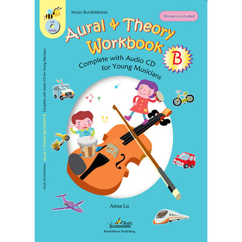 Image of vendor-unknown Music Publications,Featured Products,Products,Our Publications Music Bumblebees Aural & Theory Workbook B