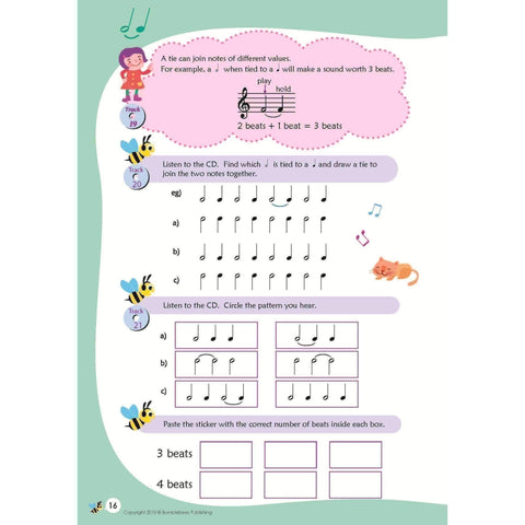 Music Bumblebees Aural & Theory Workbook B