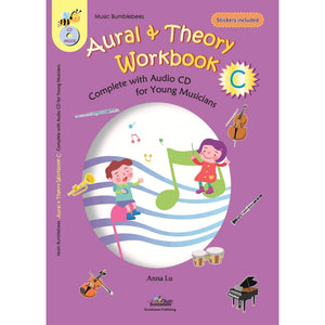 vendor-unknown Music Publications,Featured Products,Products,Our Publications Music Bumblebees Aural & Theory Workbook C