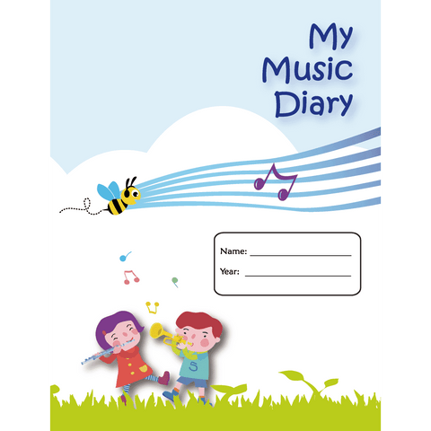 Image of Music Bumblebees My Music Diary Music Publications,Featured Products,Products,Our Publications - Music Bumblebees