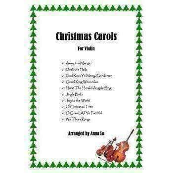 Music Bumblebees Music Publications Violin 10 Popular Christmas Carols (Digital Download)