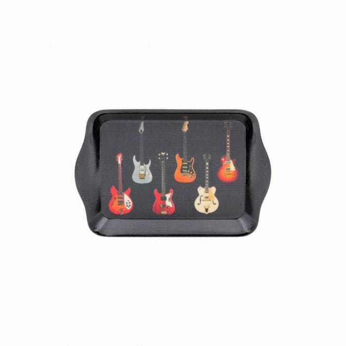 Music Bumblebees Music Snack Tray Electric Guitars Snack Tray