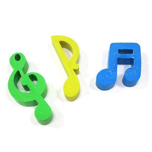 Music Bumblebees Music Stationery Music Notes Rubber (Eraser) - Set of 3