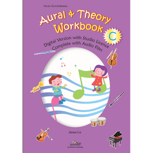 Music Bumblebees Music Workbooks Music Bumblebees Aural & Theory Workbook C Studio Licence (Digital Download)