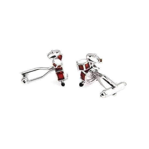 Music Bumblebees Piano Music Design Cuff Links Various - Musical Note, Guitar, Drum, Saxophone, Trumpet and Piano