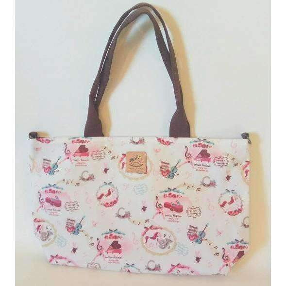 Music Bumblebees Products,Music Gifts,Mother's Day Special,For Performers Unicorn Cream Uma Hana Versatile Music Themed Horizontal A4 Shoulder Bag