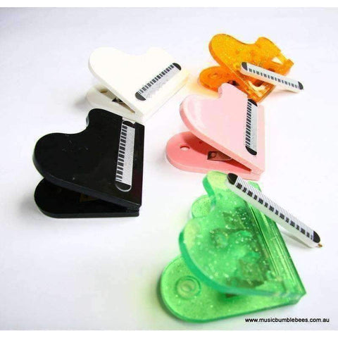 Image of Magnetic Piano Shape Clip with Pen