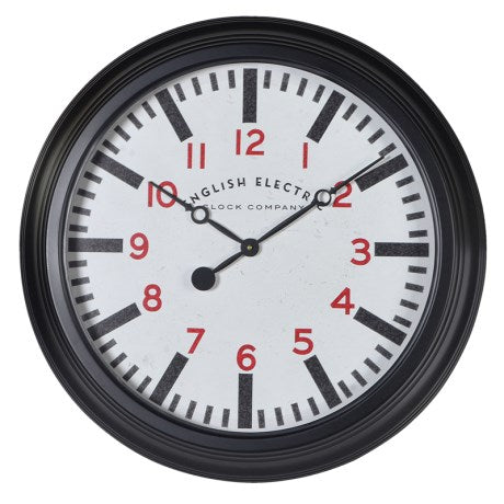 English Electric Clock | Black
