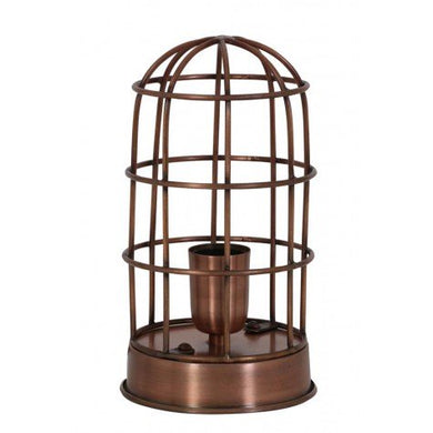 Single Cage Light | Copper