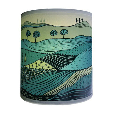 Landscape Lampshade | Green | Small