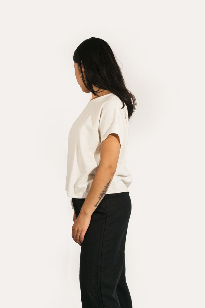 Krissy Tee in Raw Silk