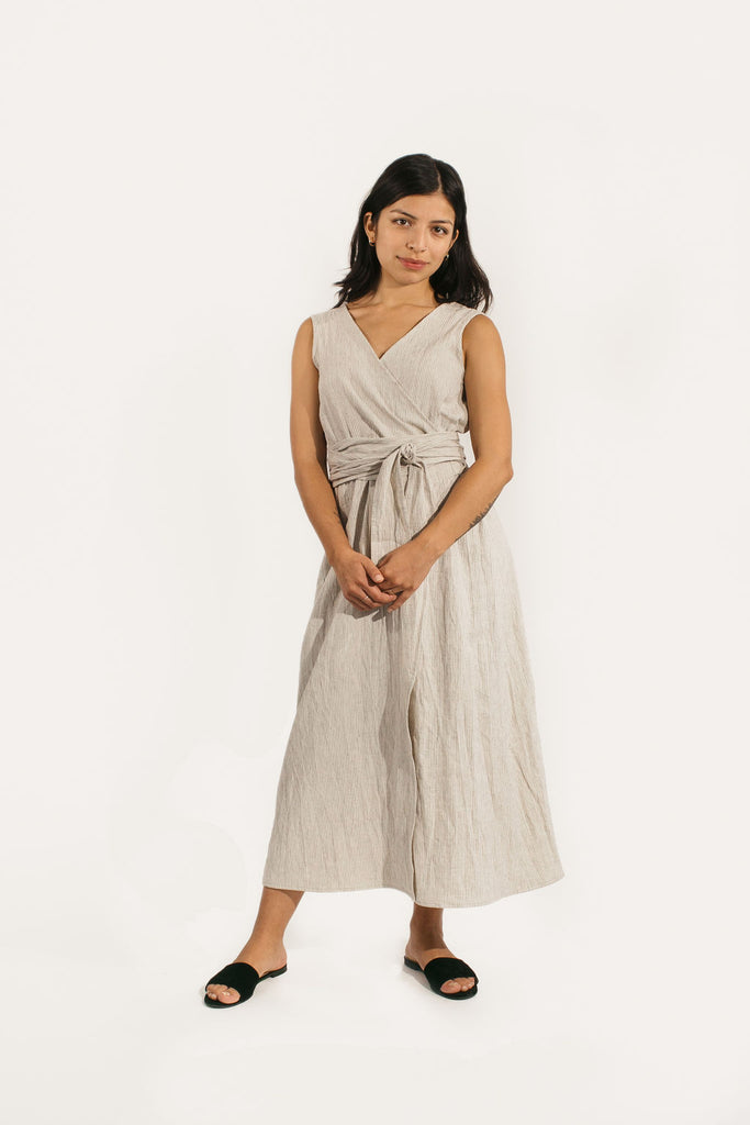 Kayo Dress in Cotton/Linen