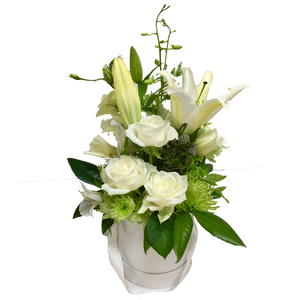 White Lily Arrangement